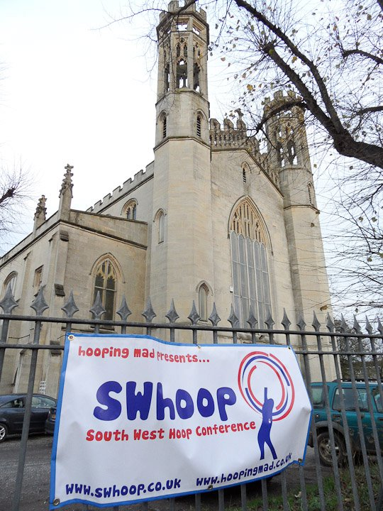 1d97e0f2f6 SWhoop is the South West Hoop Conference brought to you by Hooping Mad (aka  Emma Kenna). Held in a converted church in the heart of Bristol in the UK