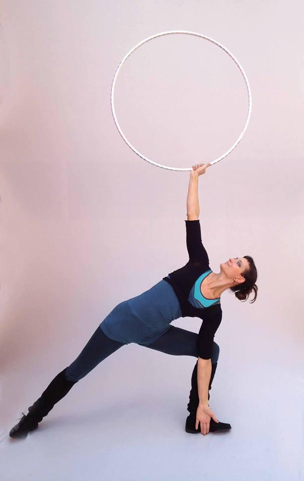 lisa looping yoga hoop 1