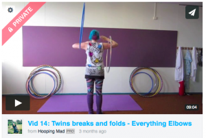 Elbows Twins breaks and folds