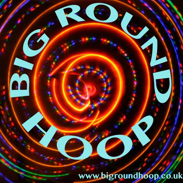 big round hoop leds